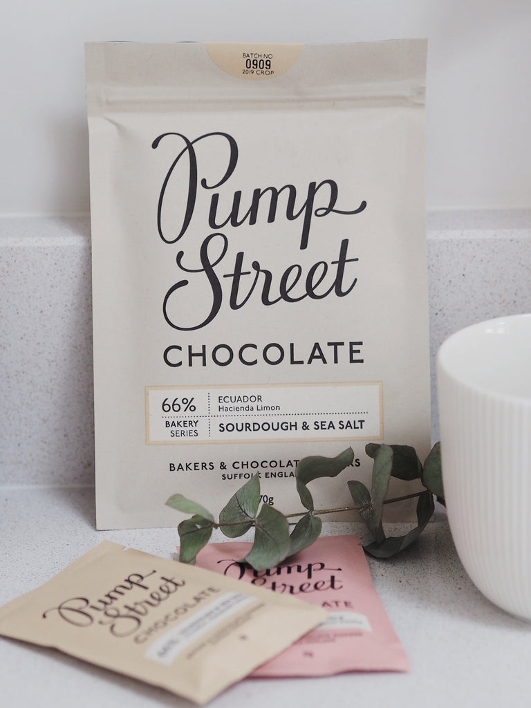 Pump Street Chocolate, 70g Sourdough & Sea Salt 66%