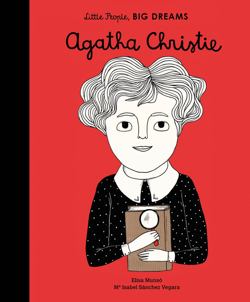 Quatro Kids Little People Big Dreams- Agatha Christie