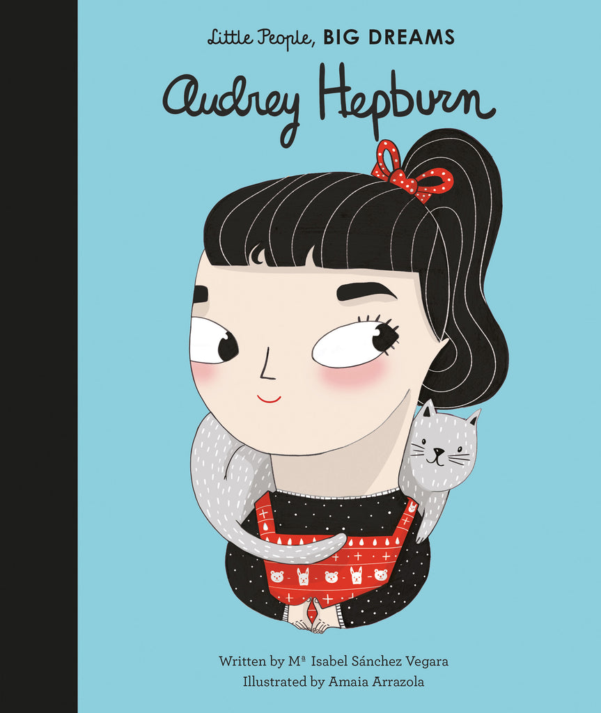 Quatro Kids Little People Big Dreams- Audrey Hepburn
