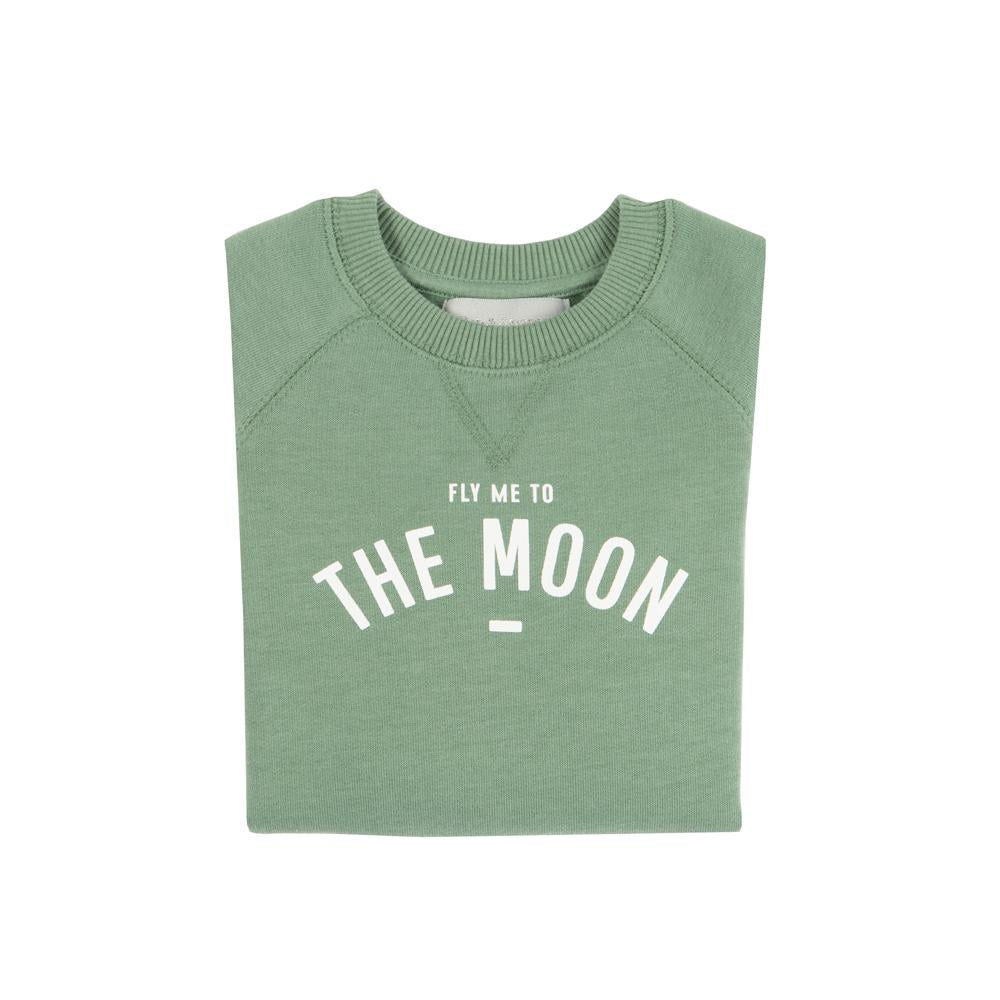 Bob & Blossom Fern 'Fly Me To The Moon' Sweatshirt