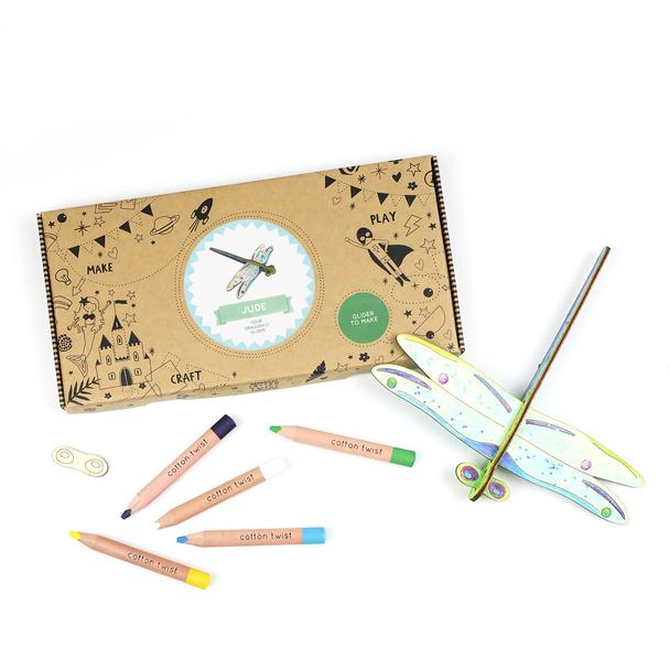 Make Your Own Dragonfly Gilder Activity Box