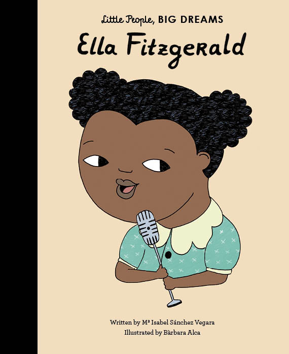 Quatro Kids Little People Big Dreams-Ella Fitzgerald