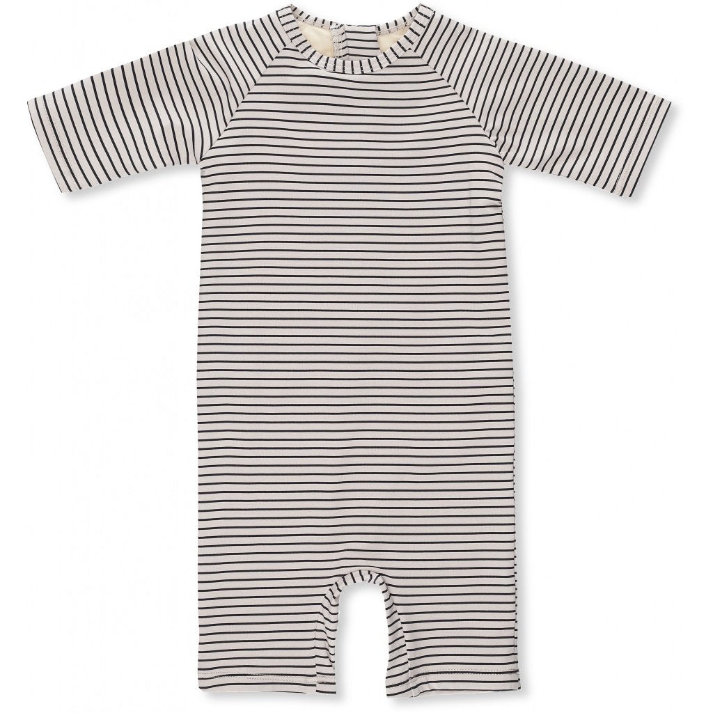 Konges Sløjd Soleil Boys UV Suit - Striped Navy/Nature