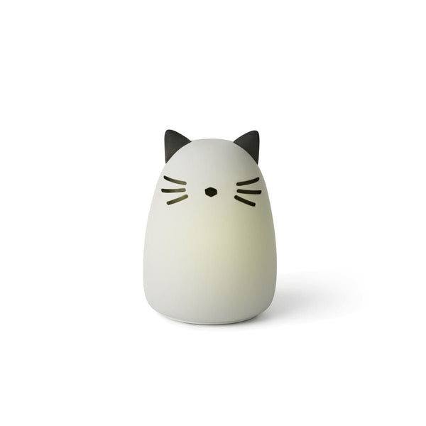 Liewood Winston Night Light - Cat dumbo grey