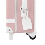 Olli Ella See-Ya Suitcase in Rose