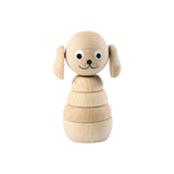 Sarah and Bendrix Frederick - Wooden Dog Stacking Toy