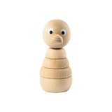 Sarah and Bendrix Odette - Wooden Duck Stacking Toy