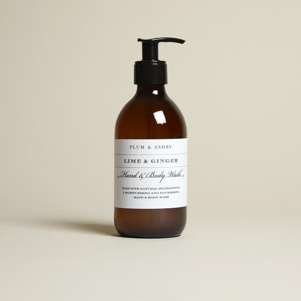 Plum & Ashby Lime & Ginger Hand & Body Wash