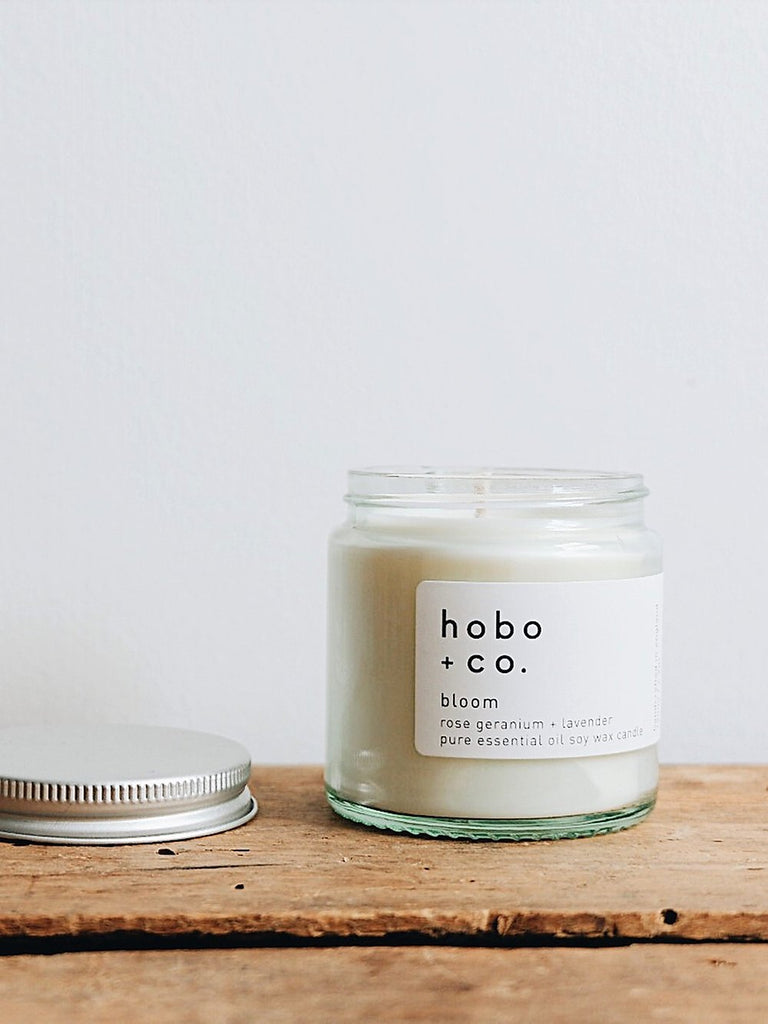 Hobo + Co - Bloom Essential Oil Candle
