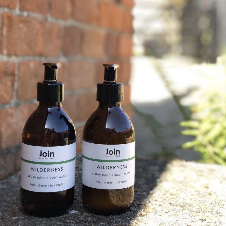 Join Vegan Essential Oil Hand + Body Lotion, Wilderness