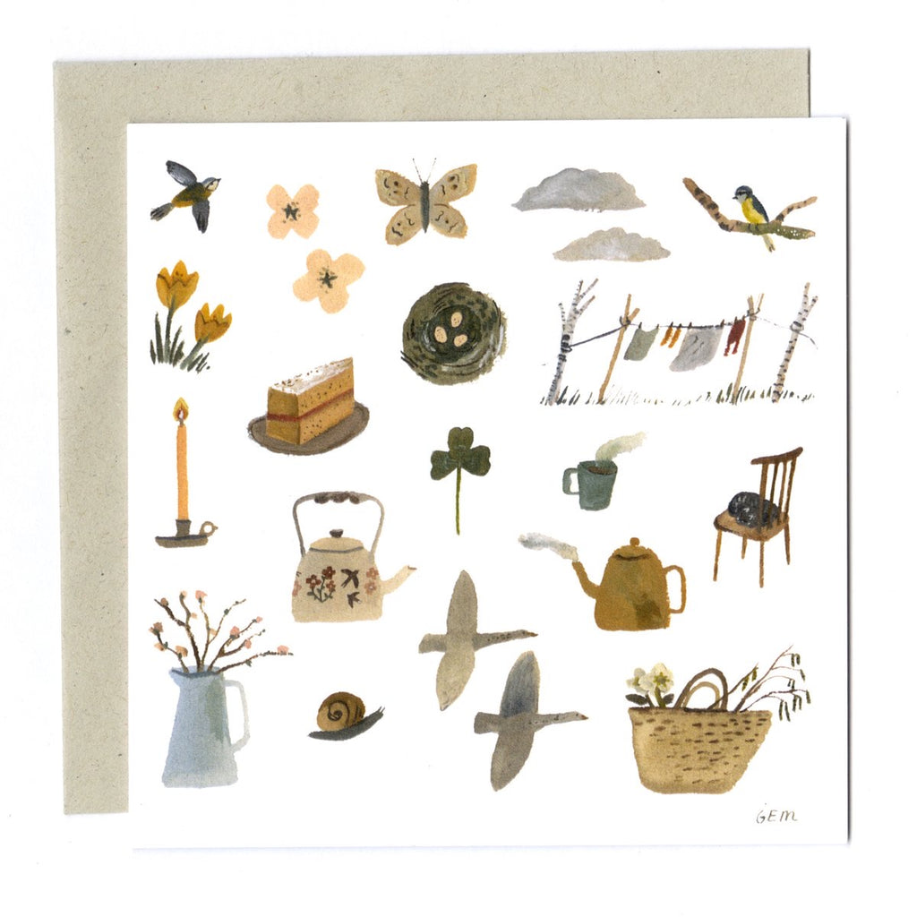 Gemma Koomen Seeking Spring Card