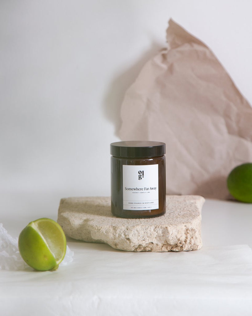 Our Lovely Goods Somewhere Far Away Candle