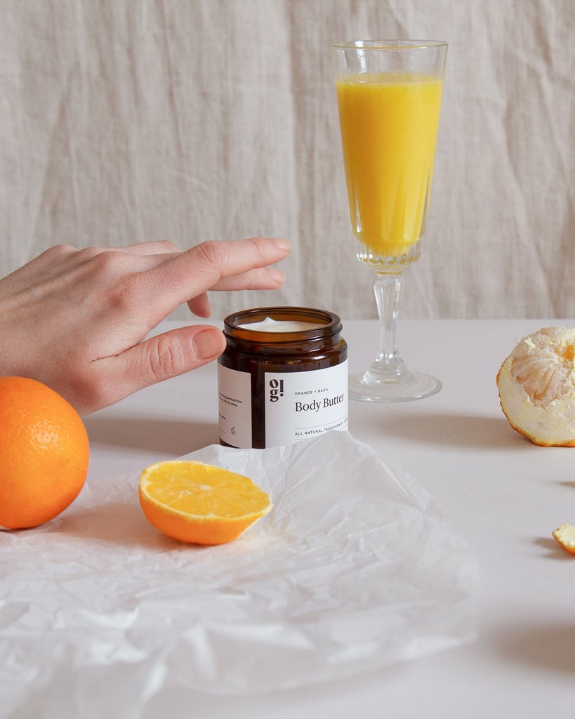 Our Lovely Goods Orange and Basil Body Butter