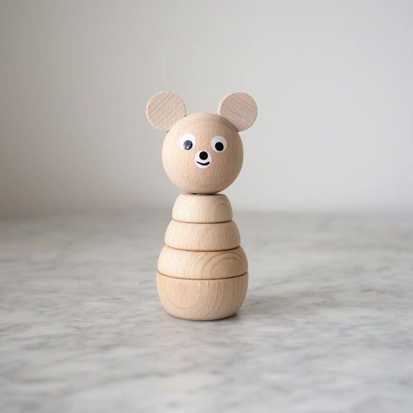 Sarah and Bendrix Benedict - Natural Wooden Stacking Toy