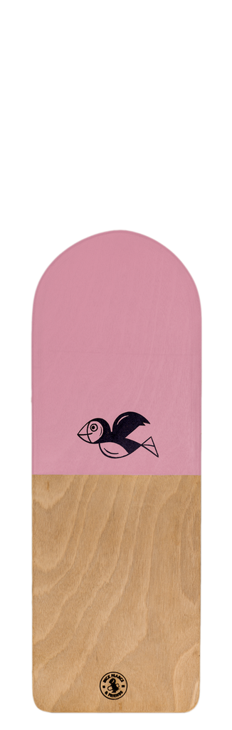 Dick Pearce Kids Mini Puffling BellyBoard - Pastel Pink