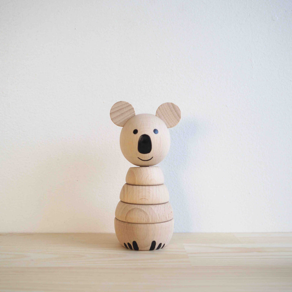 Sarah & Bendrix Koala - Wooden Stacking Toy