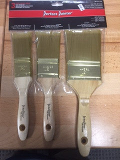 3 PC Paint Brush Set