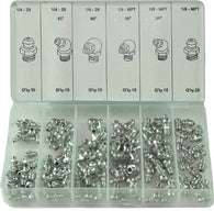110 pc Grease Fitting Assortment
