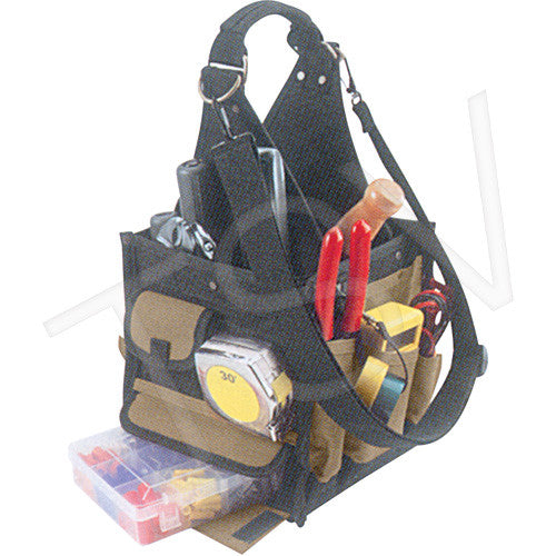 28-Pocket Electrical & Maintenance Tool Pouches