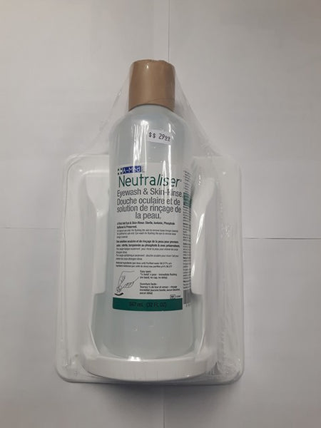 1L Eye/Skin Wash with Bottle Pod and Sign