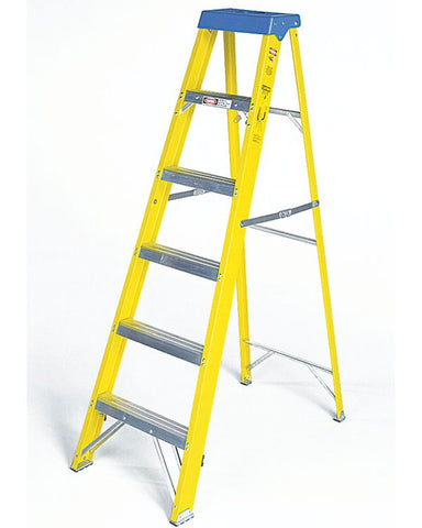 Industrial Fiberglass Step ladder 6'