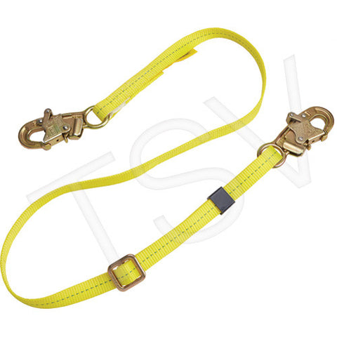 Web Adjustable Positioning Lanyard