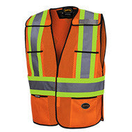 Hi Viz Orange Safety Vest