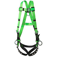 Contractor Harness - 3D - Class AP - Pass-Thru Chest Buckle - Grommetted Leg Straps