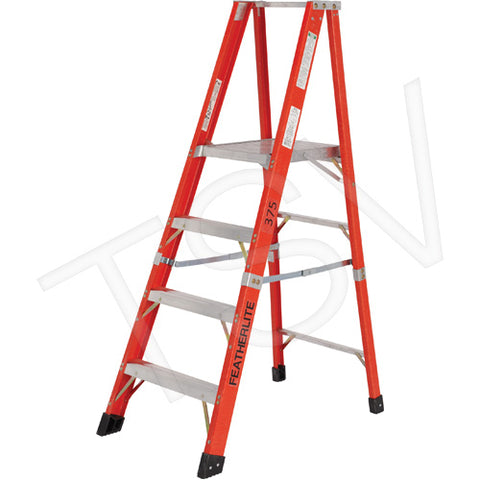 Industrial Extra Heavy-Duty Fibreglass Platform Stepladder (6500 AA Series)