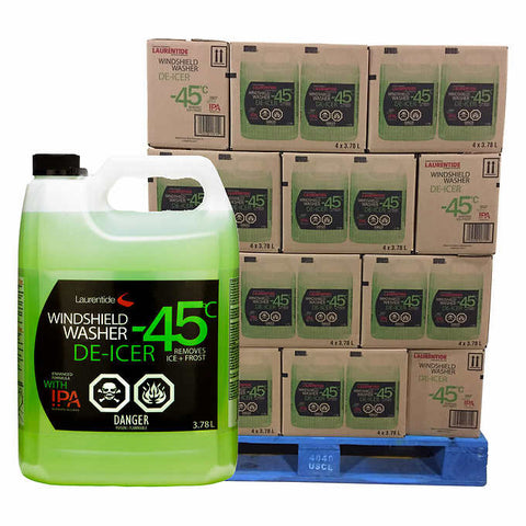 Winter Windshield Wash De-Icer, 3.78L