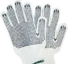 12 Pack M Poly/Cotton String Knit Gloves