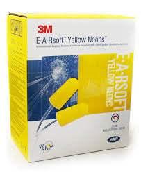 Ear Plugs E-A-Rsoft, Yellow