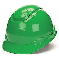 Hard Hat, 4 Point, Green - Type 1