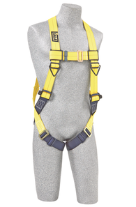 Delta Vest-Style Harness with Pass Through Leg Buckles