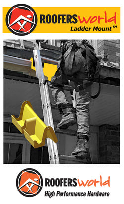 Ladder Mount™ - the Best Way to Protect Gutters and Dock a Ladder Safely