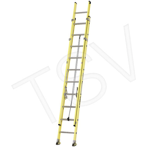 Industrial Heavy-Duty Fibreglass Extension Ladders (6900 Series)