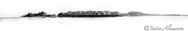 Corfu Town 2 - Photograph printed on Fine Art Paper
