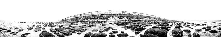 Hunstanton - Low Tide Revelations - Limited Edition Photograph printed on Fine Art Paper