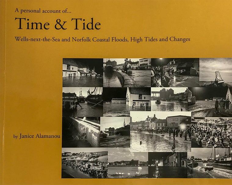 Book - A Personal Account of Time & Tide - Book