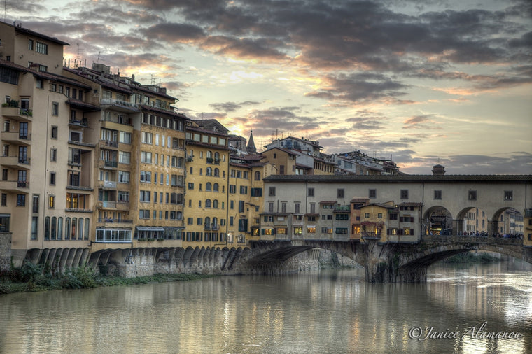 IT082513 Old Bridge (Ponte Vecchio)