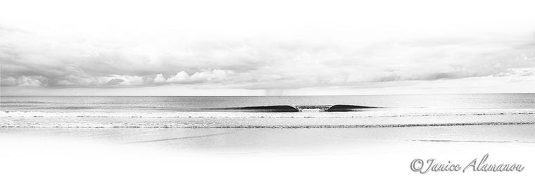 The Perfect Wave - Limited Edition Panoramic Photograph printed on Fine Art Paper - L209515pan