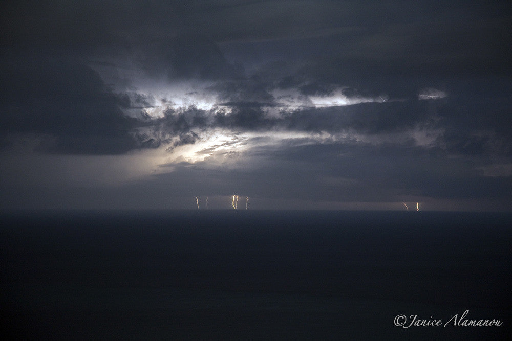L482410 Lightning Strikes the Sea
