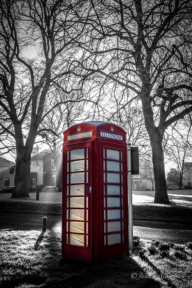 L595119 Red Telephone Box