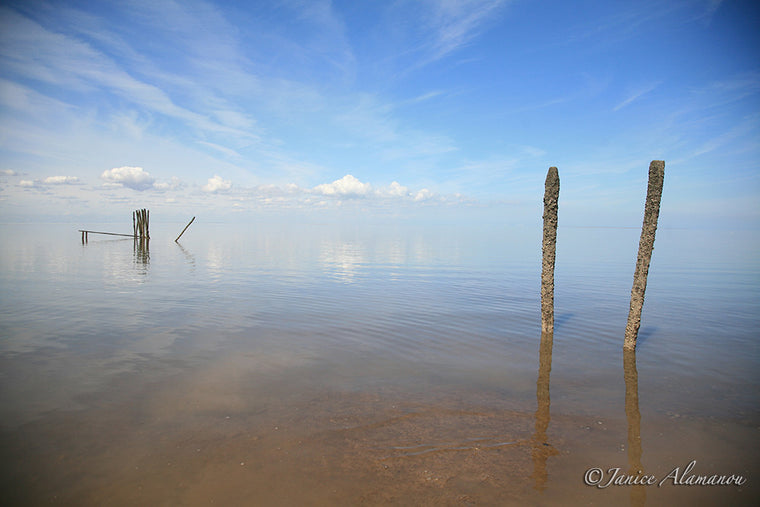 L7786 Sky meets Sea. Old Hunstanton