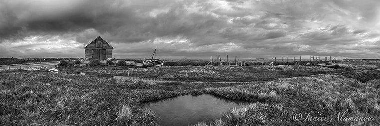 L827617pan Saltmarsh Stillness