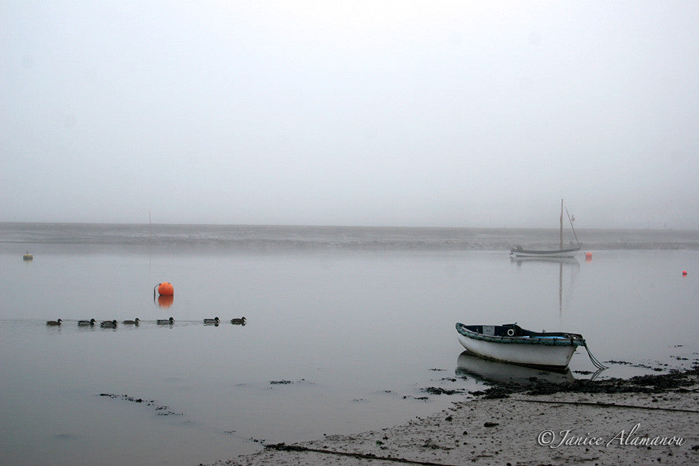 LB74 Boats in Mist