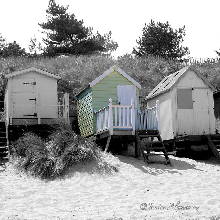 LBc316sqbwc Green Beach Hut