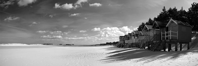 Days of Summer - Panoramic Photograph printed on Fine Art Paper LBc794511bwpan