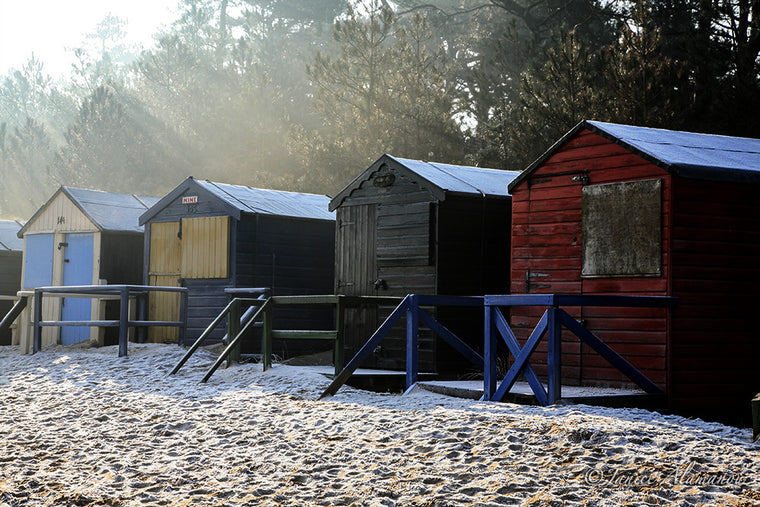 LSn54 Rays over Icy Huts