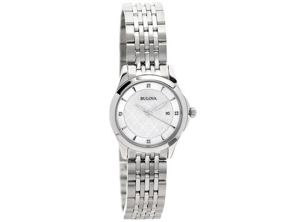 Bulova Diamond Gallery Ladies Watch - London Time Watches